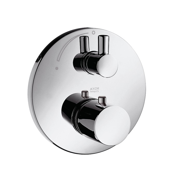 hansgrohe axor uno thermostatic mixer for concealed. Black Bedroom Furniture Sets. Home Design Ideas