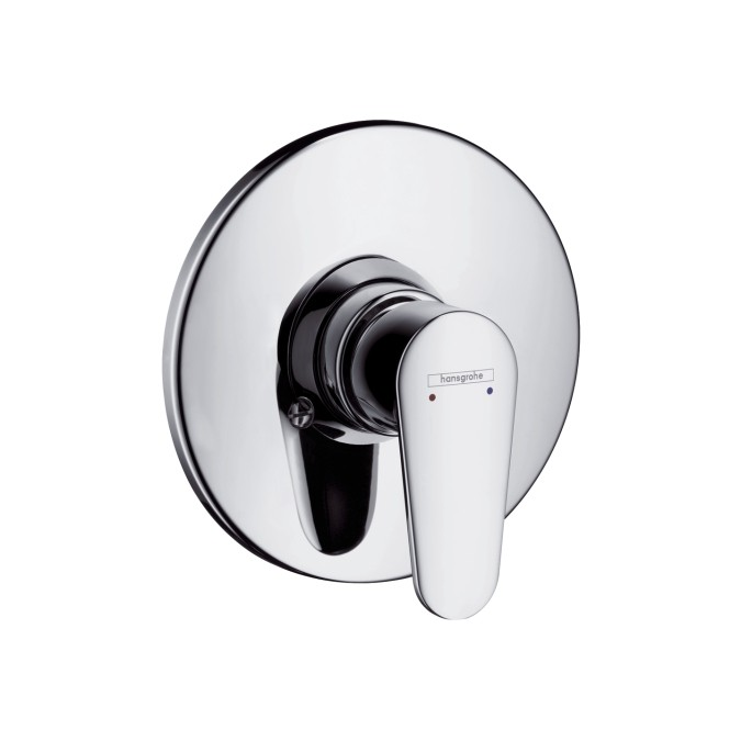 hansgrohe talis e2 single lever shower mixer for concealed installation 150mm item 31636000. Black Bedroom Furniture Sets. Home Design Ideas